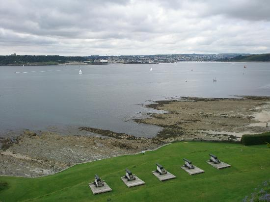 St. Mawes Castle: View from St Mawes Castle