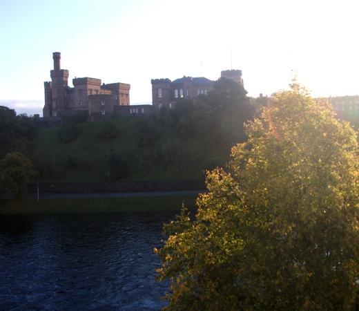 Best Western Inverness Palace Hotel & Spa: view from room