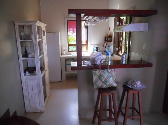 Pousada Terra dos Goitis: Kitchen