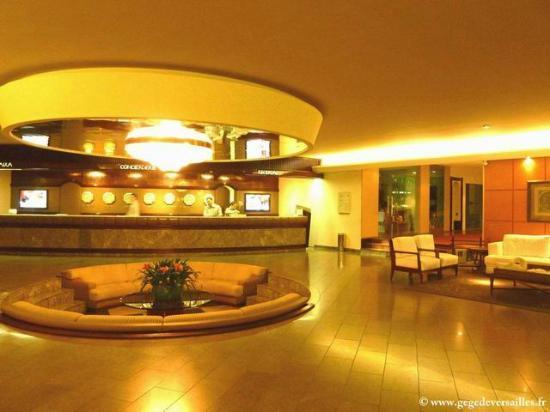 Bourbon Cataratas Convention & Spa Resort : La réception du Bourbon Cataratas. Iguazu
