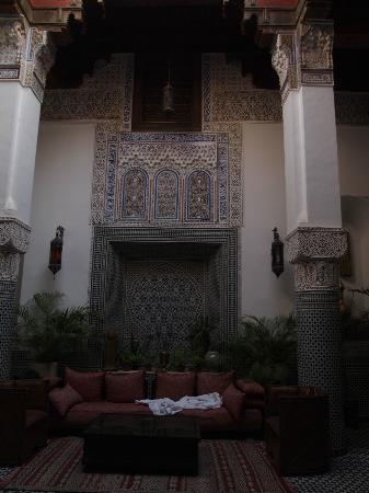 Riad d'Or Hotel: Patio