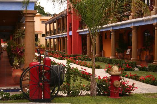 Hotel Angel Inn: Vista desde el Interior