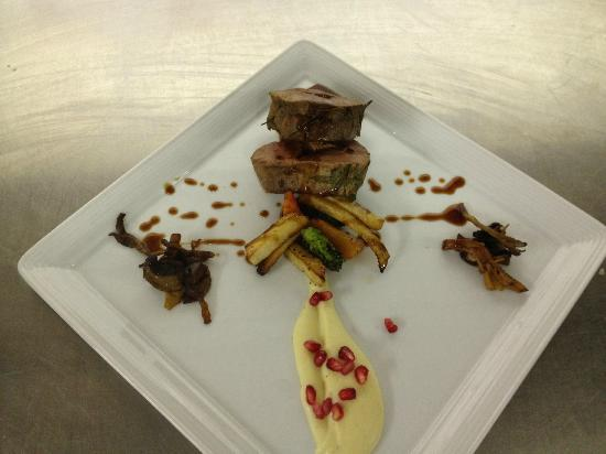 Rederiet Hotell : Wildboar with Rosemery sauce