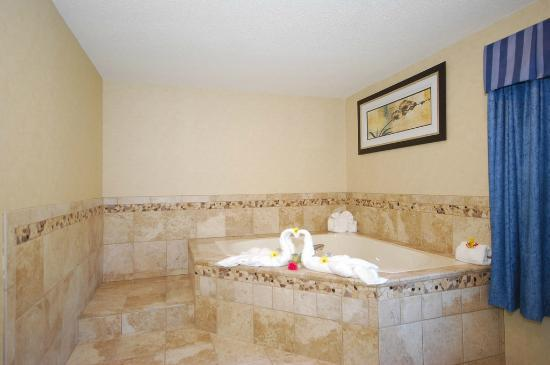 BEST WESTERN PLUS Berkshire Hills Inn & Suites: Fireplace Jacuzzi Suite