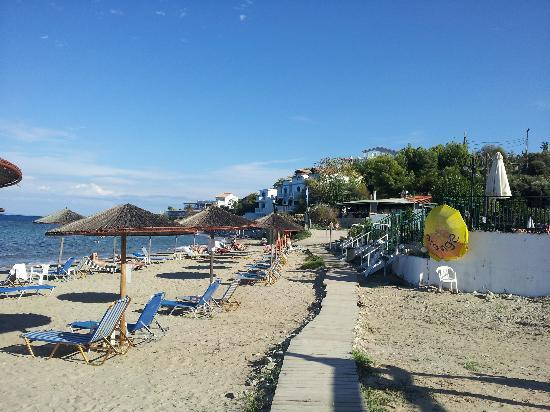 Planos Bay Apartments Hotel: Tsilivi beach