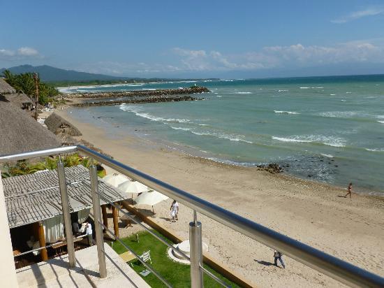 Hotel Cinco: Desde la terraza