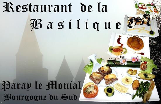 Restaurant de la Basilique : paray le monial