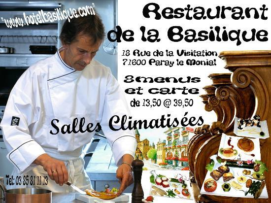 Restaurant de la Basilique : restaurant paray le monial