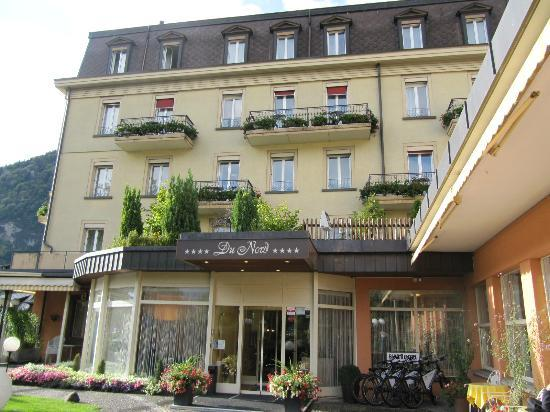 Hotel du Nord: Hotel front