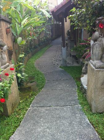 Tunjung Mas Bungalows and Resort: interior del hotel