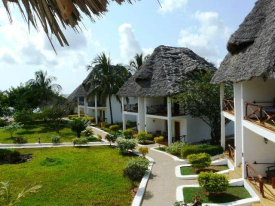 Ngalawa Beach Village: les bungalows