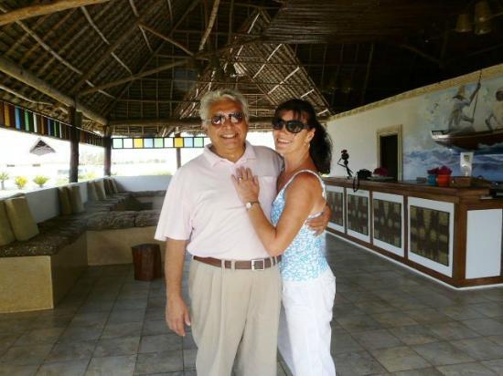 Ngalawa Beach Village : les proprietaires mama Joanne et babou Sadru