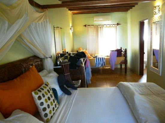 Ngalawa Beach Village : la chambre