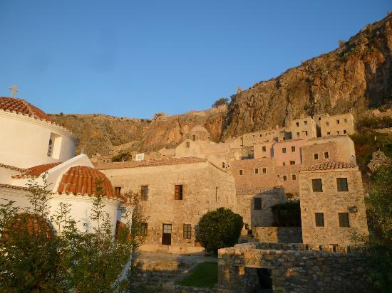 Likinia Hotel: View to the Fortress