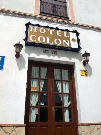 Hotel Colon: ENTRADA DEL HOTEL