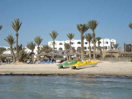 Hotel Palm Azur: Plage