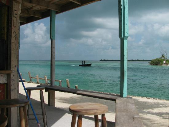 Island Magic Beach Resort: Lazy Lizard bar view