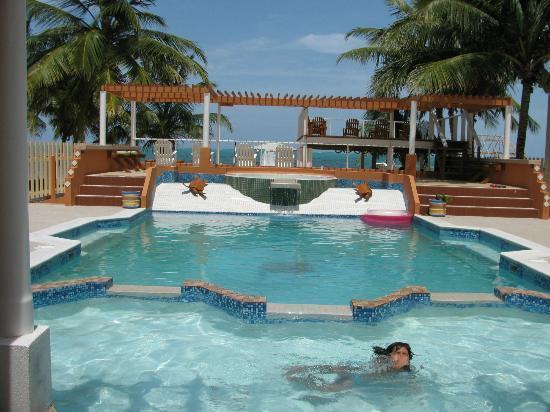 Island Magic Beach Resort: beautiful clean pool