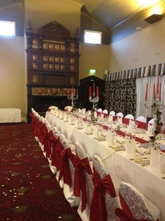 The Kinmel : The stunning reception room