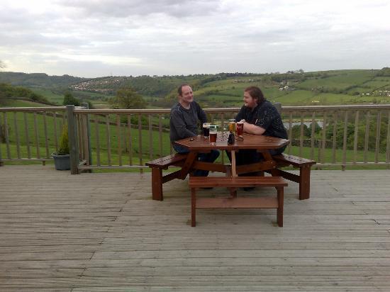 The Hill Top Inn: Enjoying the view