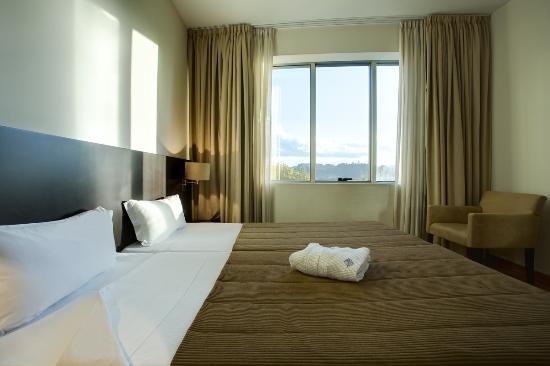 Hotel Conde de Agueda: Quarto vista cidade