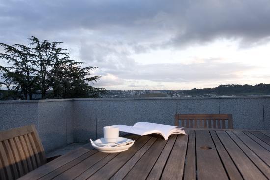 Hotel Conde de Agueda: terraço