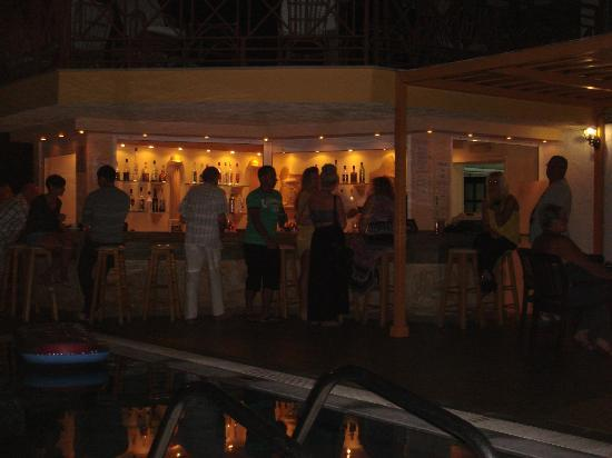 Bar area of Despo Hotel