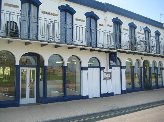 The Ilfracombe Fryer: Front of restaurant.