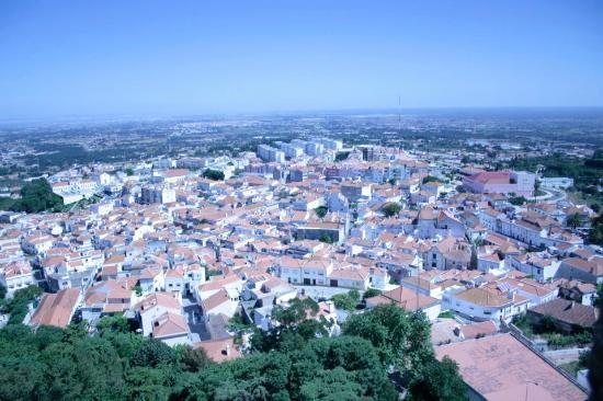 Castelo de Palmela: View from the Castellos