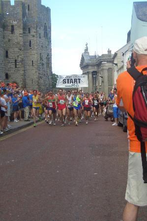 Cartref Guest House: Welsh Relay Race - June each year