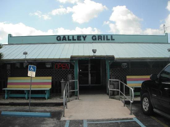 The Galley Grill: View from the highway