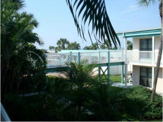 Treasure Shores Beach Club: Garden & View