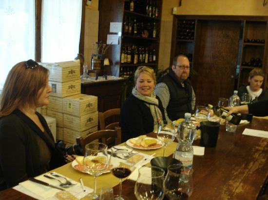Tenuta Torciano: Torciano wine tasting
