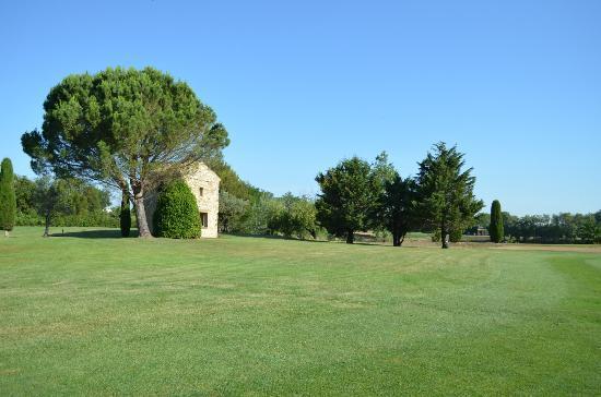 Golf Grand Avignon: Cabane en pierres sèches