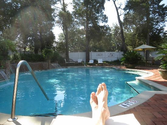 The Willcox: The Pool and my feet!