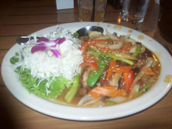 Basil Thai Restaurant: Duck in tamarind sauce