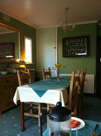 Seaward Guest House: Breakfast room