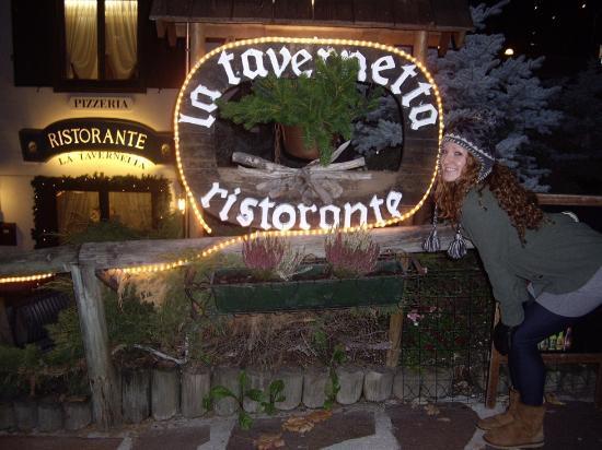 La Tavernetta: Outside