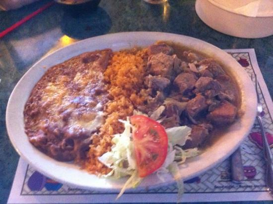 Queviva Restaurant: Chile verde
