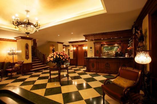 Hotel Plaza Grande: Lobby