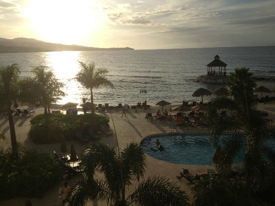 ‪‪Secrets Wild Orchid Montego Bay‬: View from Wild Orchid Preferred, Room 1315