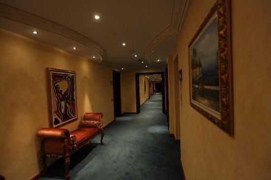 Swiss Diamond Hotel Prishtina: Hallway
