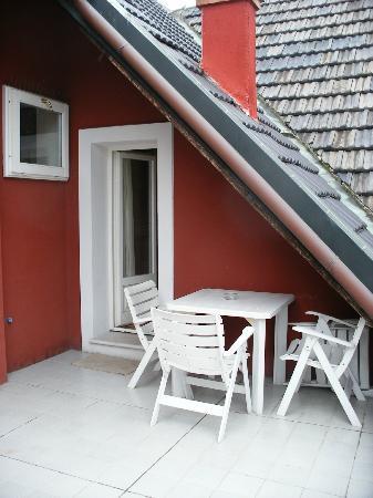 Villa Laguna: Balcony door