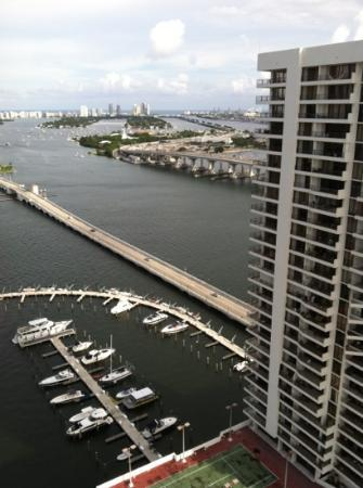 Miami Marriott Biscayne Bay: view from 3128