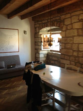 Apartments Martecchini : dining/livingroom