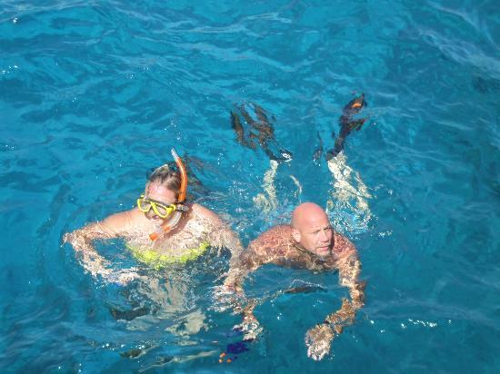 Falcon Naama Star: Snorkeling