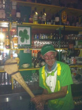 The Lucky Leprechaun: the wonderful John