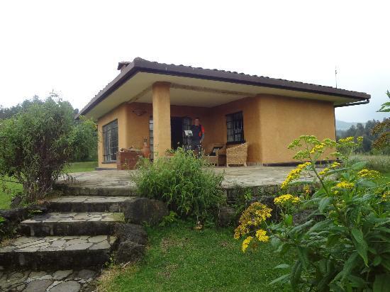 Sabyinyo Silverback Lodge: bungalow
