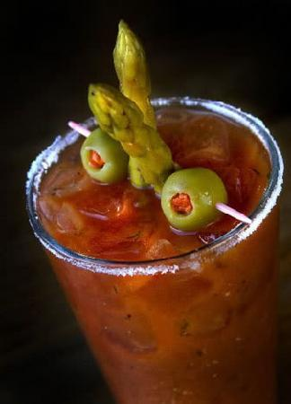 Juicy's The Place with the Great Food: Best Juicy Marys on the river