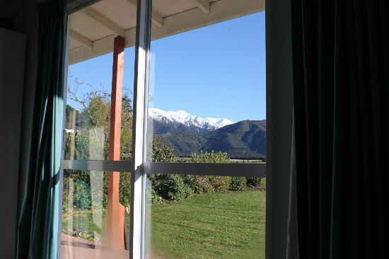Glenview Farmstay: View from bed
